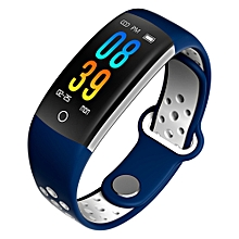 Q6 Sports Record Health Monitoring Notice Reminds IP68 Waterproof Smart Watch