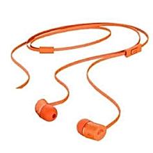 HP H5000 Bluetooth Earphones with Inbuilt Microphone - Orange.