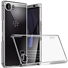 Blackberry KeyOne Luxury Clear Crystal Soft Electroplating TPU Case - Clear