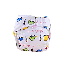 1PC Cute Baby Cotton Training Pants Reusable Infants Nappies Diapers S-AS Shown