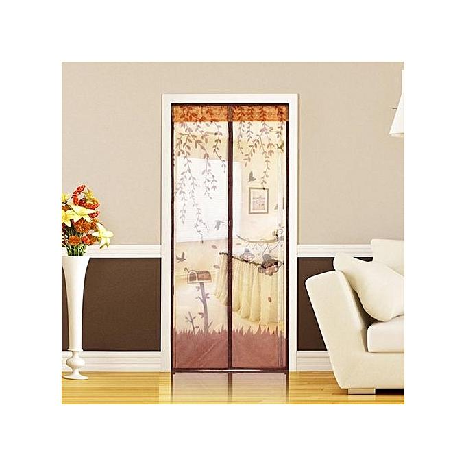 Buy Generic Magnetic Mesh Screen Door Fly Bug Insect Mosquito Net Curtain Best Price Online