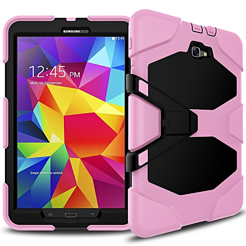 Samsung Galaxy Tab A 10 1 Case(SM-T580),Slim Heavy Duty Shockproof Rugged  Case High Impact Resistant Defender Full Body Protective Cover with Screen
