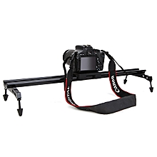 Commlite Portable 60cm 24 Inch Sliding-pad Video Track Slider Stabilizer System For DSLR Camera