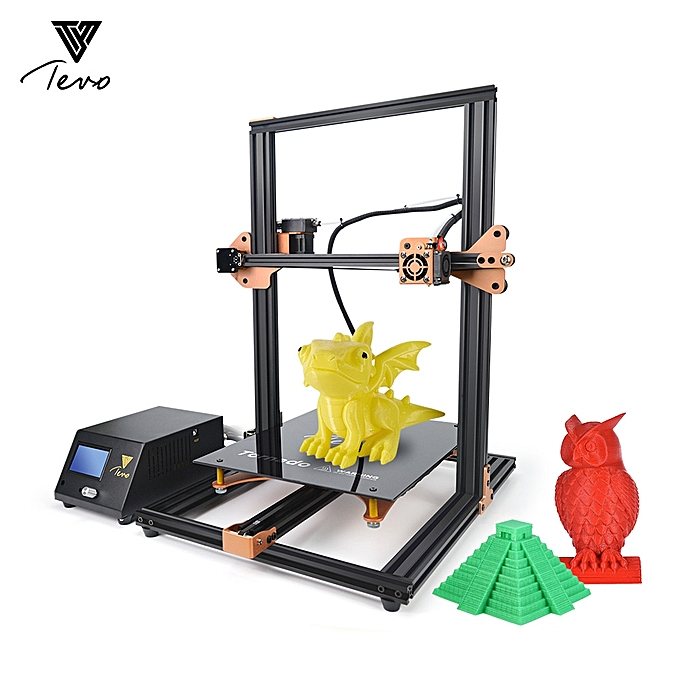 TEVO Tornado 3D Printer Large Print Volume 300 * 300 * 400mm Self-assembly  Full Metal Frame for Home School Teaching Use