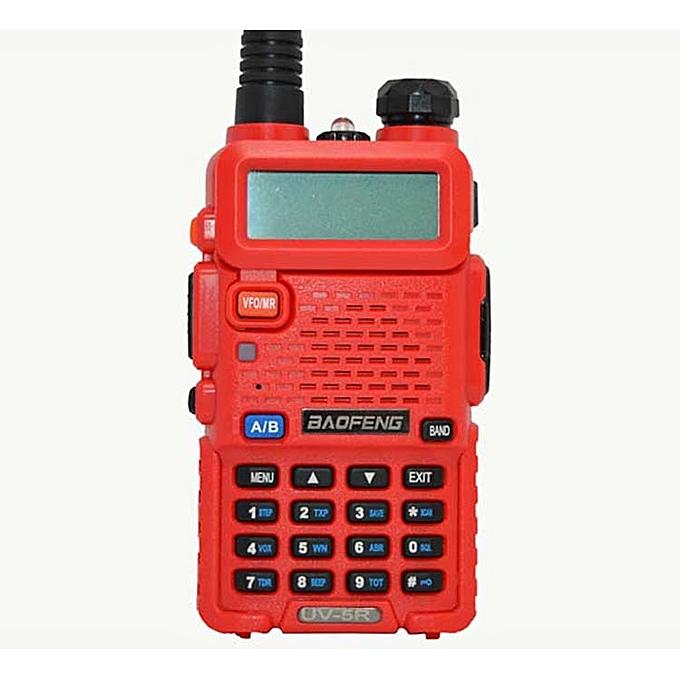 Portable RadioUV-5R two way radio Walkie Talkie Dual band uv 5r with Dual  Wide Band SMA-F Female Soft Antenna 771 JULIANA