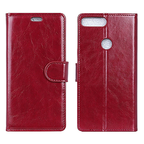 save off a3931 9ea25 Oppo Realme 2 Case,Premium PU Leather Wallet Flip Protective Case Cover  with Card Slots and KickStand for Oppo Realme 2 6.2
