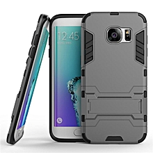 2 in 1 Dual Layer Protection Hybrid Rugged Shockproof Case Full Body Protector Cover Hard Shell Cover with Kickstand for Samsung Galaxy S7 Edge   XXZ-Z
