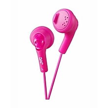 HA-F160 - Gumy Ear Bud Headphones - Pink