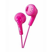HA-F160 - Gumy Ear Bud Headphones - Pink