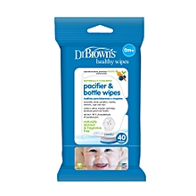 Pacifier and Bottle Wipes - 40 Pieces