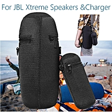 Travel Spandex Carrying Case Cover Storage Bag For JBL Xtreme Speakers & Charger