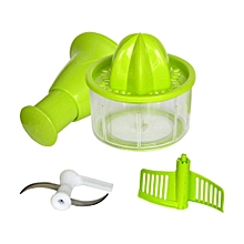 3 in 1 Quick Chef Cutter - Green