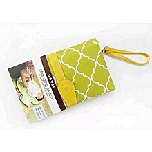 Diaper Changing Clutch Bag(green)