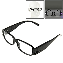 Uv Protection White Resin Lens Reading Glasses With Currency Detecting Function, +3.50d