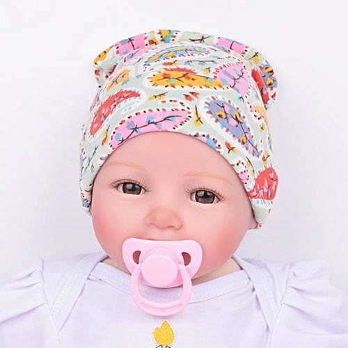 48cceb30f1d Eissely Newborn Hospital Hat Newborn Baby Hats With Flower Flower Hat GN