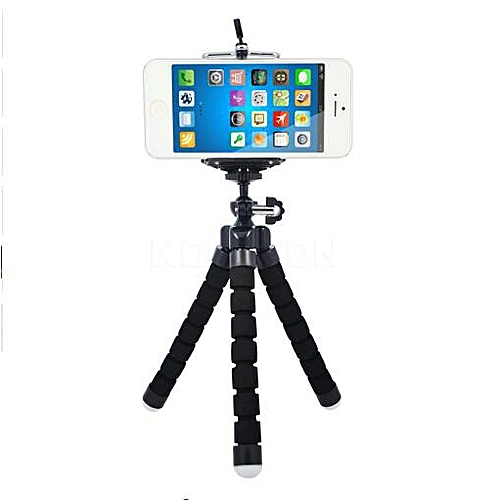 new product 847fb b59ce Universal Phone holder flexible tripod, camera stand red octopus for iphone  mobile picture photo taking sport accessories YESMALL