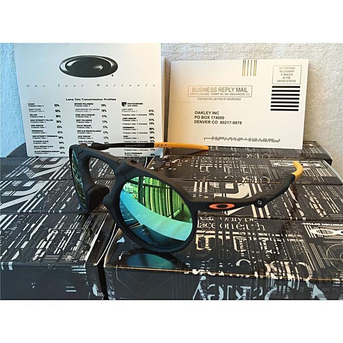 2b14755832 Sunglasses Oakley Polarized Madman Dark Carbon Prizm Daily Black Gold  Mercury Iridium