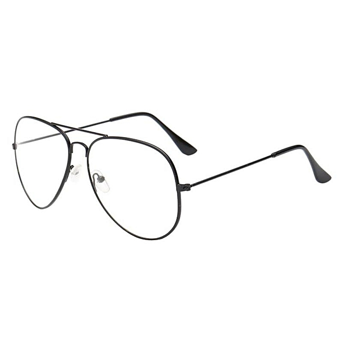 Buy Generic Nice Winleworld Men Women Clear Lens Glasses Metal ...
