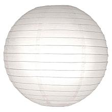 Chinese Paper Lanterns / Ball Lampshades - 35cm white