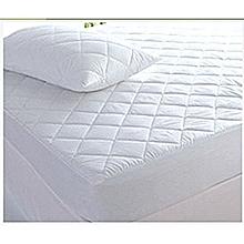 6 X 6 Mattress Protector - White