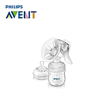 Philips AVENT Manual Breast Pump Comfort Feeding Baby Bottle Newborn Milk Natural Mom