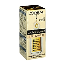 La Manicure 7 in 1 Saviour, For Damaged Nails - 5ml.