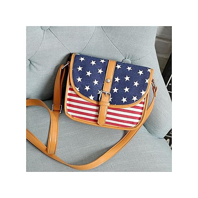 bluerdream-Womens Leather Shoulder Bag Satchel Handbag Tote Hobo Crossbody  Messenger Bags-Blue 1169309665f3b