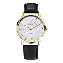 G063 Ladies Casual Leather Watch-BLACK