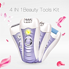 Electric Lady Epilator Hair Shaver Callus Remover Rechargeable Hair Removal Tool