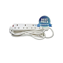 4-Way Extension Cable - White