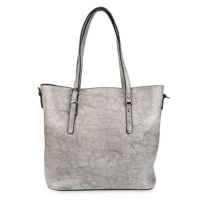 19000589d9a Leadsmart Guapabien Classic Pure Color PU Waterproof Women Convertible  Shopper Bag