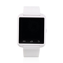 Bluetooth LCD Touch Screen Smart Wrist Watch Phone Mate For Smart Phone-White