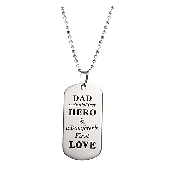 To My DAD Keychain Military Father Day Family Love Stainless Steel Birthday Gift