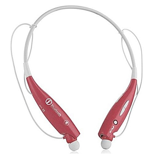 8e22d45e05d Generic HV800 Wireless Bluetooth Headset HandFree Sports Stereo Earphone (Color:Red)