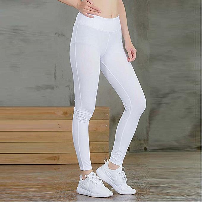 bbc719c605f81 Women's Fitness Yoga Pants Reflective Strip Night Running Fast-drying Pants