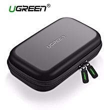 External Hard Drive Case Bag, Travel Electornics Accessories Organizer Bag For 2.5 Inch Hard Drives/Earphone/U Disk Hard Disk Drive LBQ