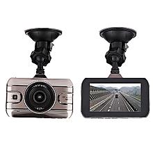 Car Dash Cam 170° HD 2+0.3MP Dual Lens Night Vision 1080P G-Sensor Camera DVR