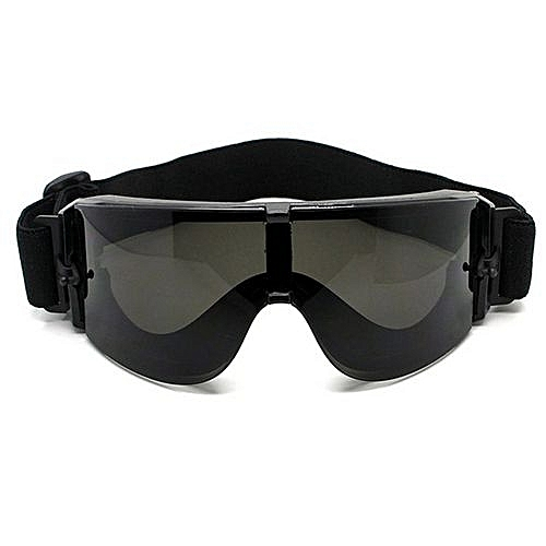 3ced439f9a4 Generic UL Military Goggles Tactical Glasses X800 Sunglasses Eye Protecting  Black