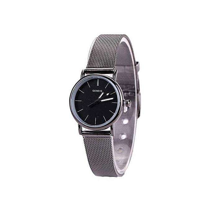 53c24e9444d Generic Lovers Metal Mesh Band Fashion Quartz Wrist Watch   Best ...