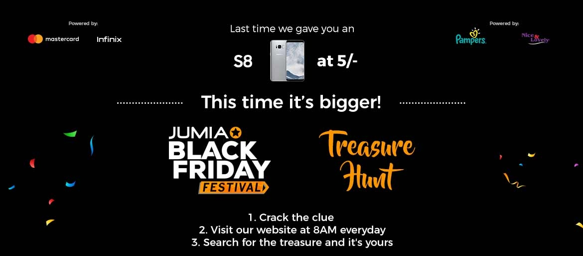 Black Friday Treasure Hunt