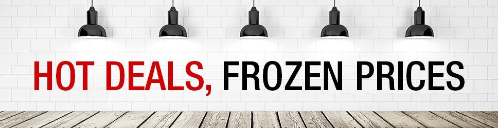 Hot deals frozen prices