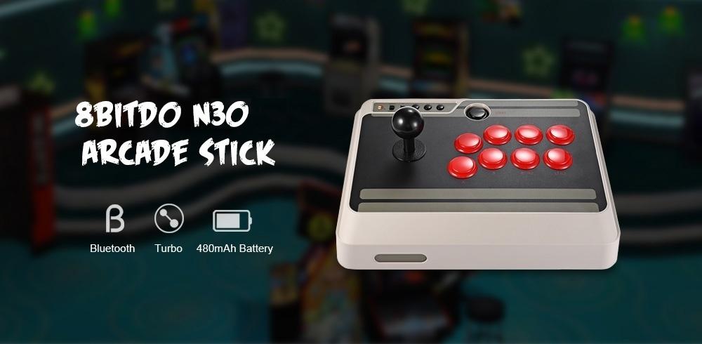 8Bitdo 8Bitdo N30 Customizable Bluetooth Stick with Turbo