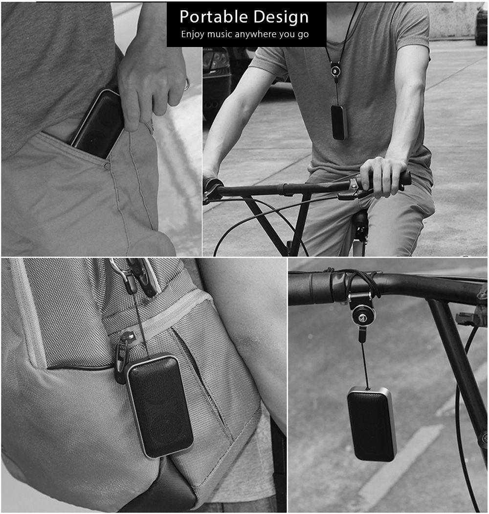 AEC BT - 207 Mini Bluetooth Speaker Portable Player with Strap