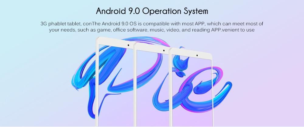 ALLDOCUBE iPlay8 Pro 8.0 inch 3G Phablet Android 9.0 MTK8321 1.3GHz Quad Core CPU 2GB RAM 32GB ROM 2.0MP Camera