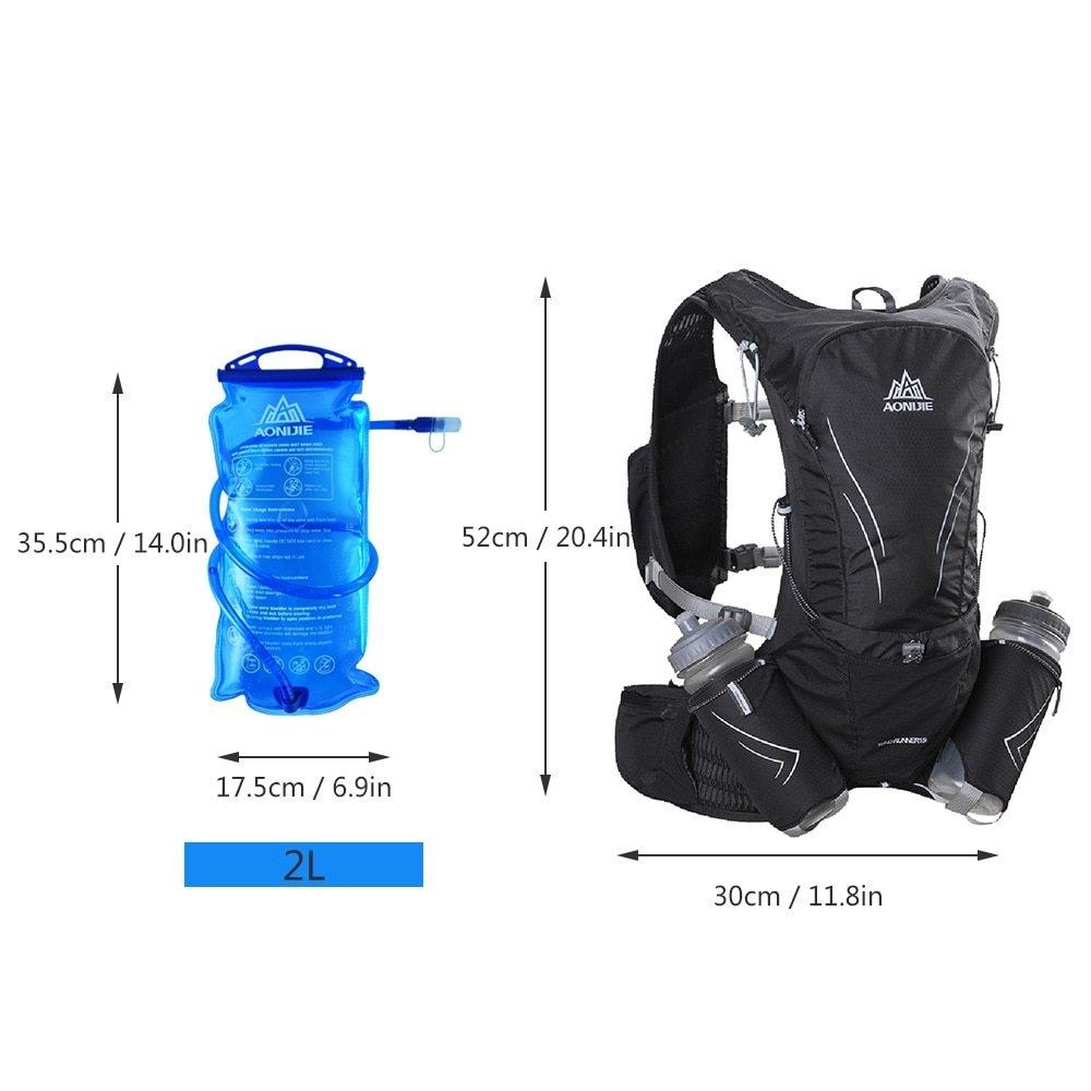 8fca15747f51 Aonijie Hydration Vest Running Water Pack Vest Marathon Hydration ...