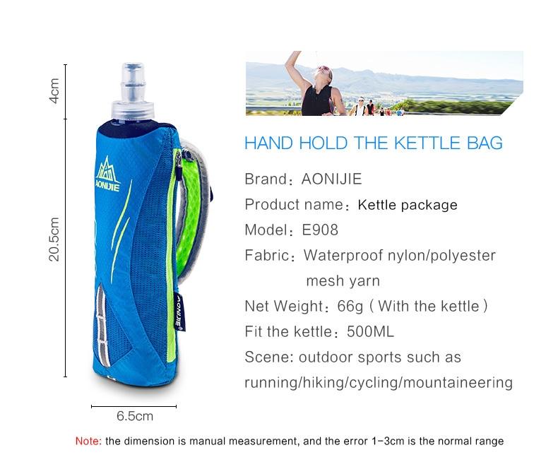 Aonijie Running Kettle Pack Outdoor Sports water bottle Bag