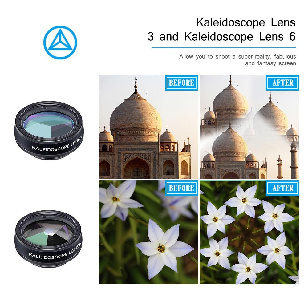 APEXEL APL - DG10 10 in 1 External Phone Camera Lens Kit External Phone Camera