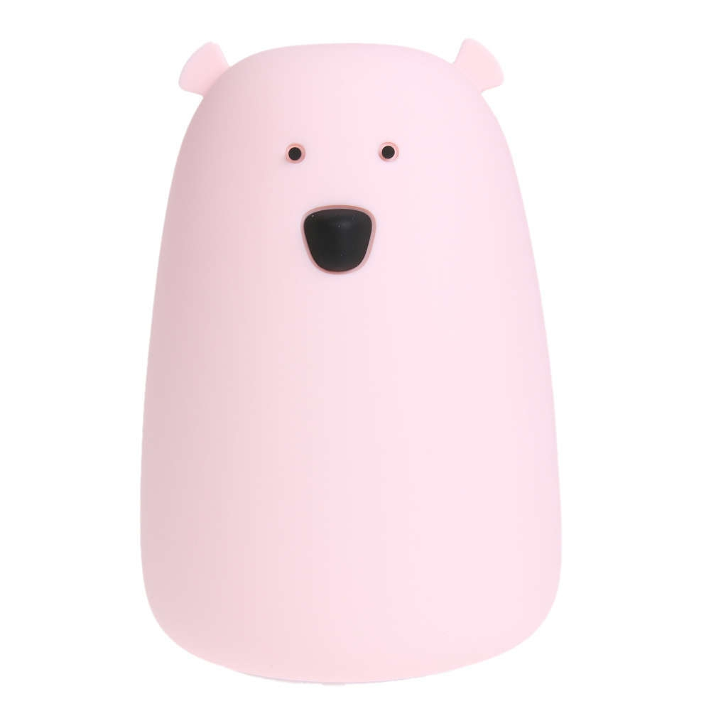 Image result for SILICONE BEAR NIGHT LIGHT PINK
