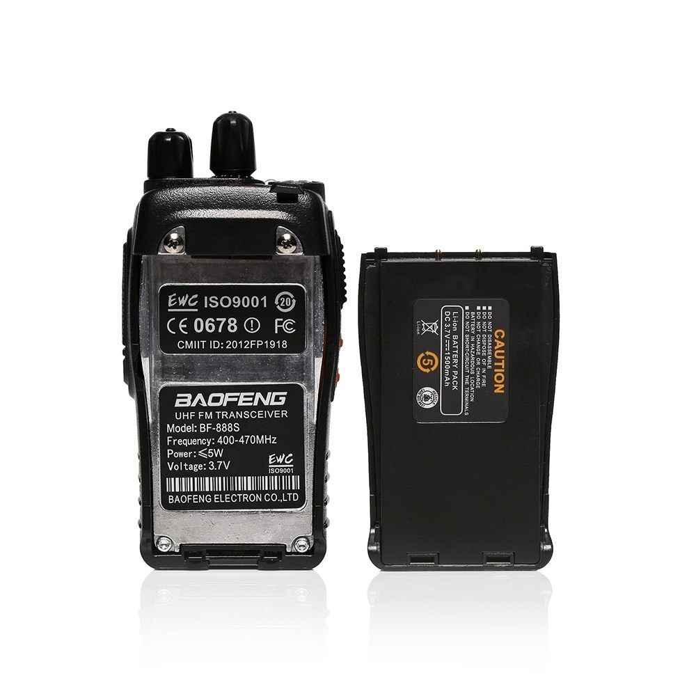 Baofeng 2PCS Baofeng Walkie Talkie BF-888S Two-way Portable CB Radio