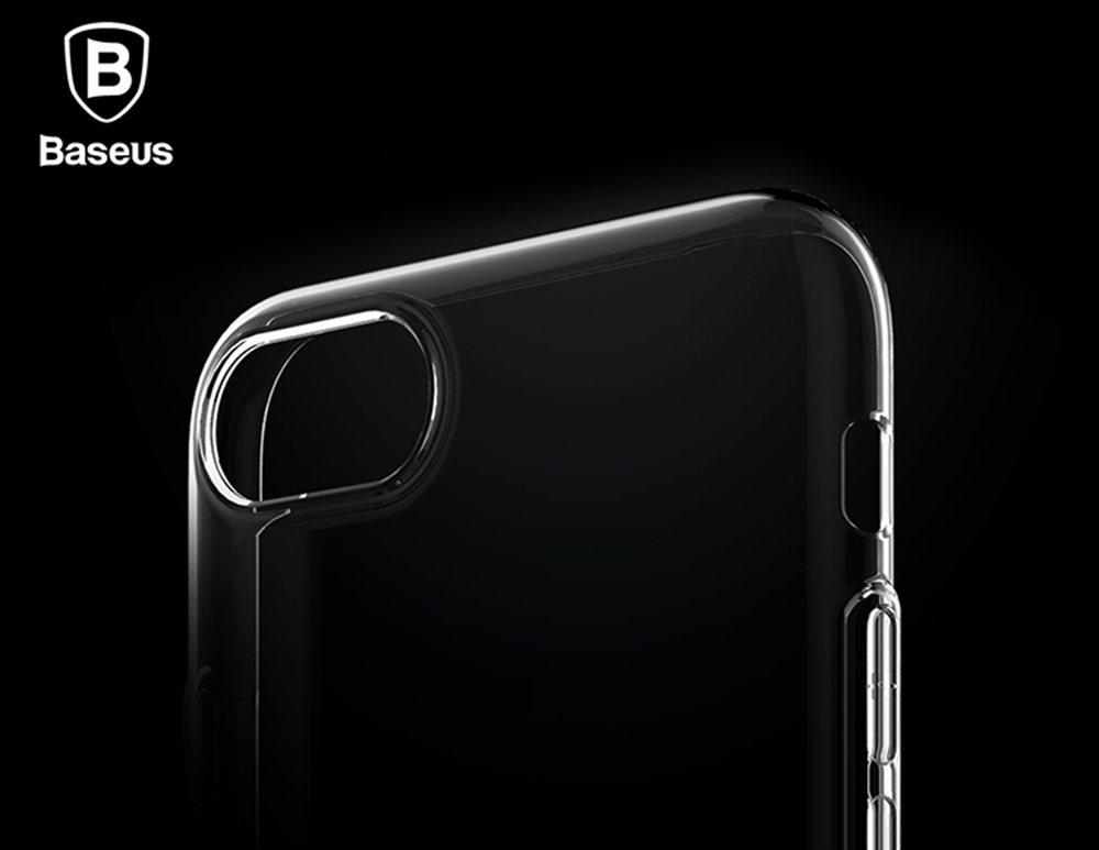 Baseus 4.7 inch Ultra Thin Simple Soft Protective Mobile Phone Back Case Cover for iPhone 7 / 8